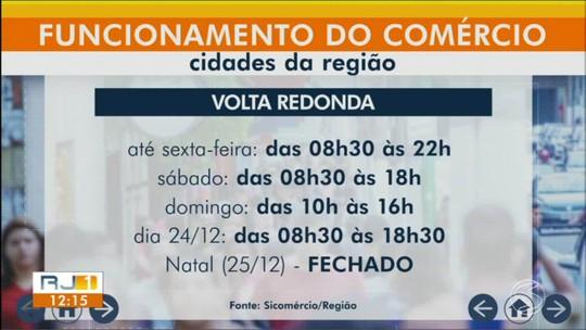 Confira os horários especiais do comércio para compras de Natal no Sul do Rio