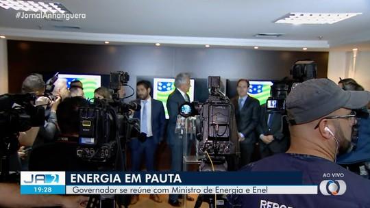 Acordo para melhorar fornecimento de energia em Goiás é assinado por governador e Enel
