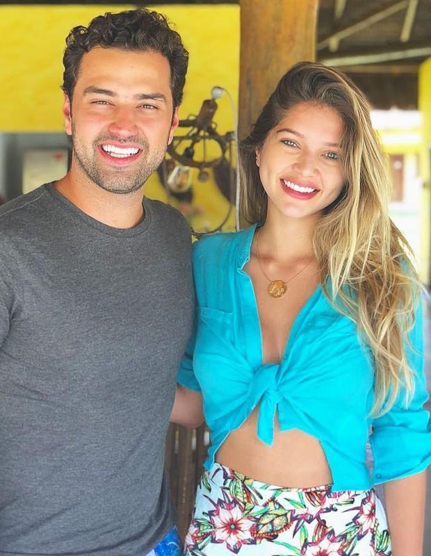 Lyandra com o namorado, Lucas (Foto: Reprodução/Instagram)