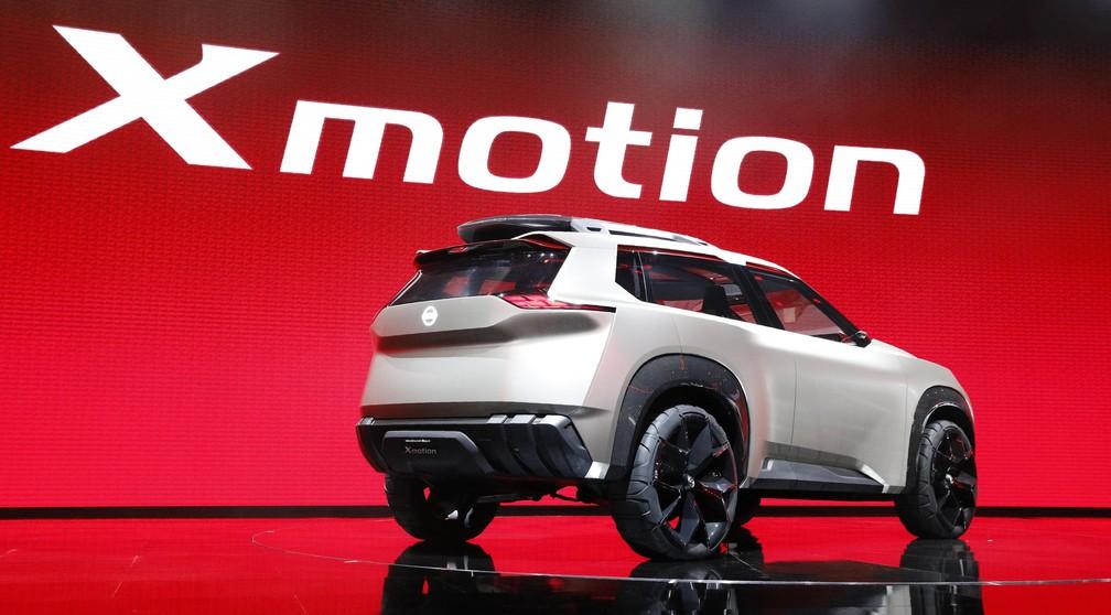 Nissan X motion é um novo conceito de SUV (Foto: Brendan McDermid/Reuters)