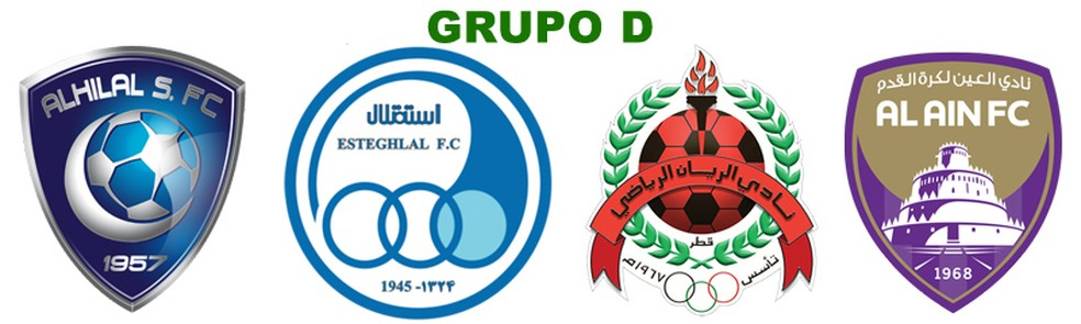 Grupo D: Al Hilal, Esteghlal, Al Rayyan e Al Ain (Foto: Futebol no Japão)
