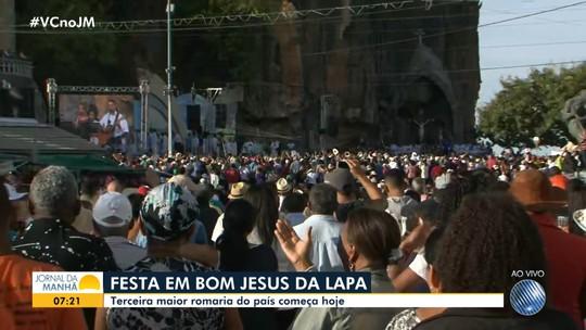 Terceira maior romaria do país começa nesta terça-feira, em Bom Jesus da Lapa