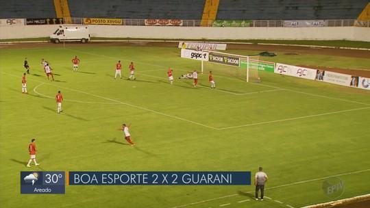 Boa Esporte x Guarani-MG - Campeonato Mineiro 2019 - globoesporte.com