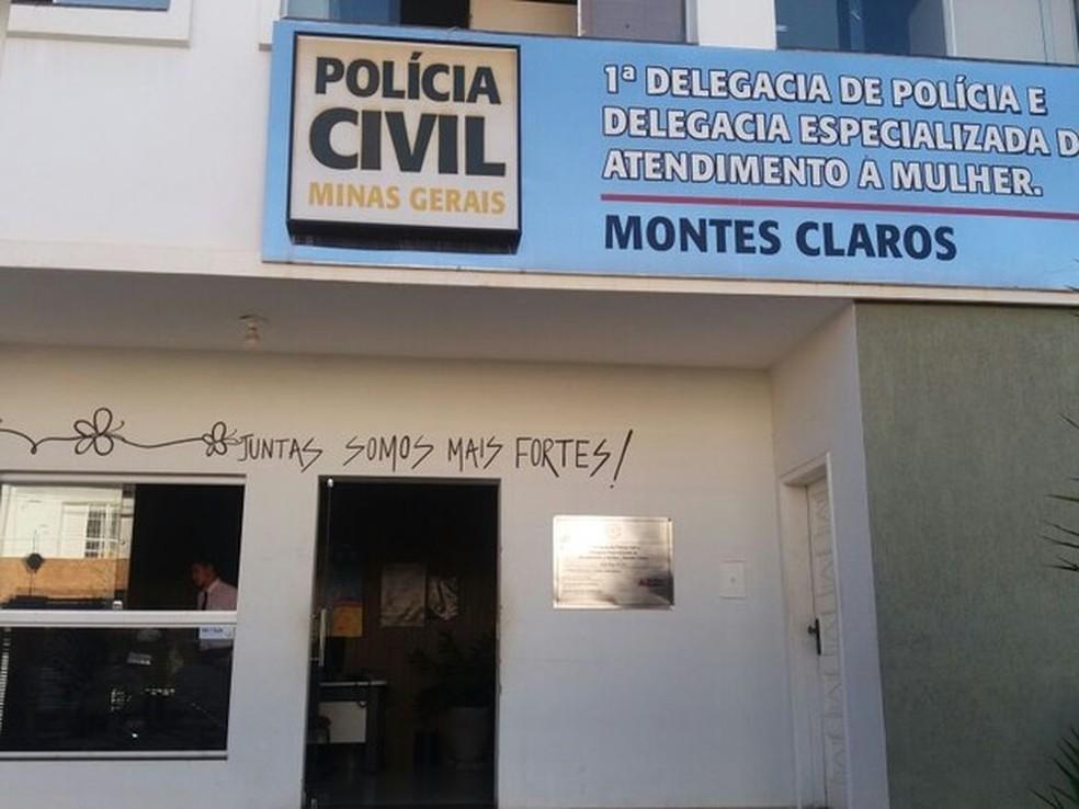 Delegacia da Mulher em Montes Claros funciona no Centro da cidade — Foto: Ana Carolina Ferreira/Arquivo pessoal