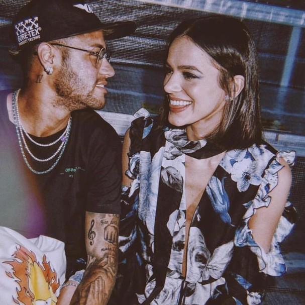 Neymar Jr e Bruna Marquezine (Foto: Instagram/Reprodução)