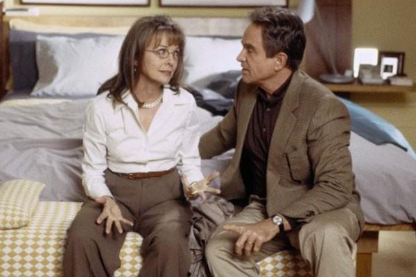 Diane Keaton e Warren Beatty  (Foto: Reprodução)