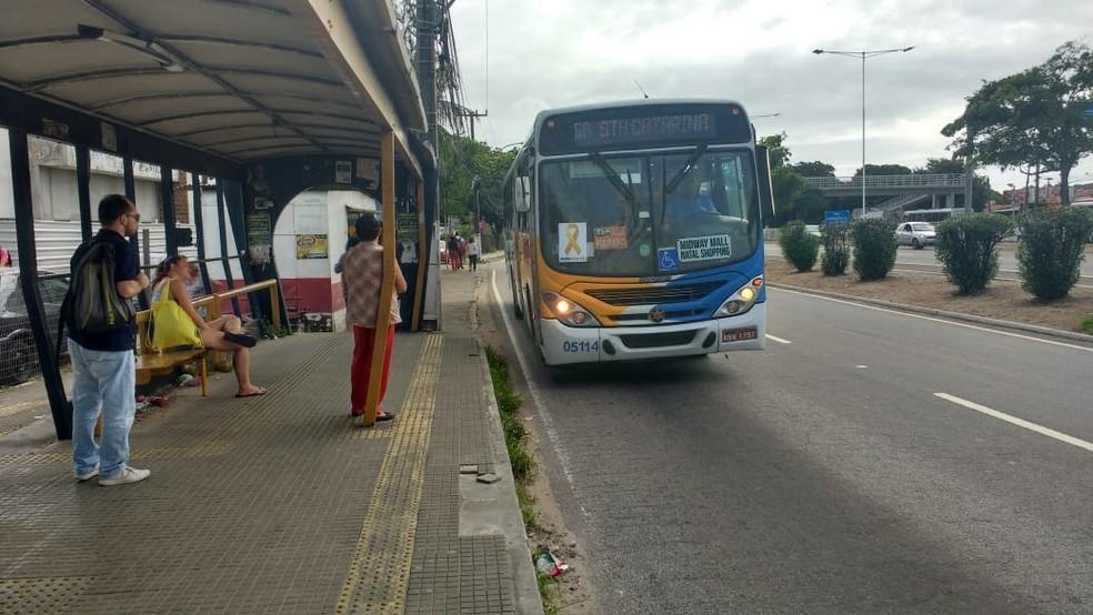 Aumento da tarifa foi solicitado pelo Sindicato das Empresas de Transportes Urbanos de Passageiros do Município de Natal (Seturn) — Foto: Igor Jácome/G1