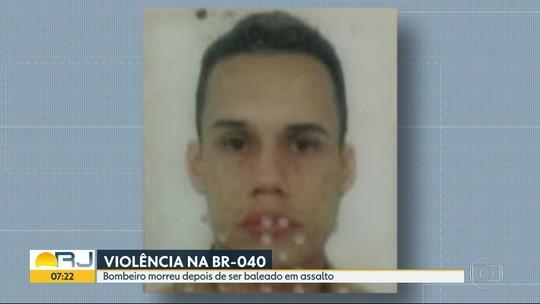 Imagens mostram socorro a bombeiro baleado por criminosos na Baixada Fluminense