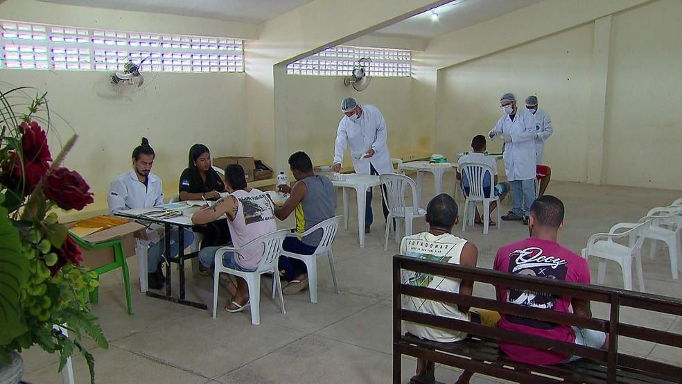 Presos que foram condenados em Pernambuco por crimes contra a vida ou hediondos têm DNA cadastrado  (Foto: Reprodução/TV Globo)