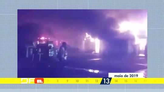 Redação Móvel mostra situação das vítimas do incêndio no Recanto das Emas