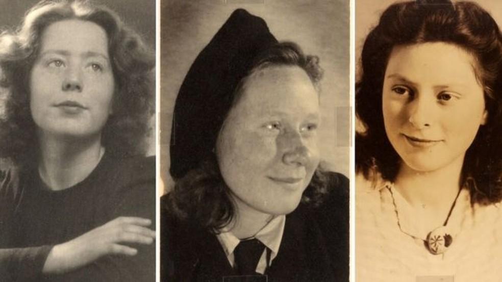 Resultado de imagem para II guerra - as tres adolescentes holandesas