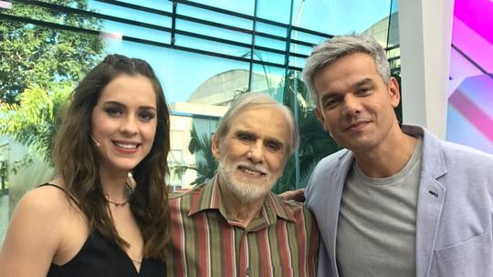 Francisco Cuoco relembra carreira no 'Meu Vídeo é Um Show'