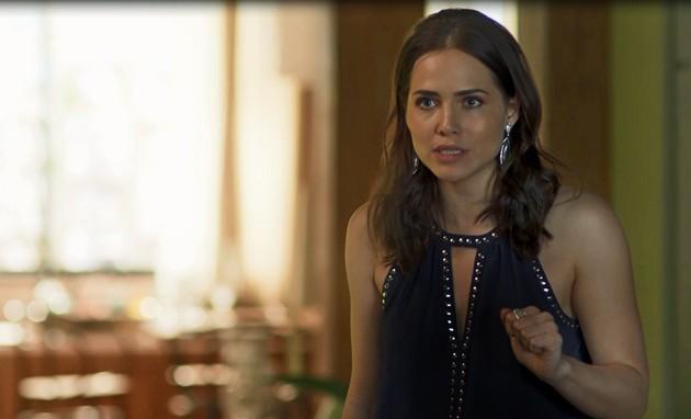 'Segundo Sol': Letícia Colin é Rosa (Foto: TV Globo)