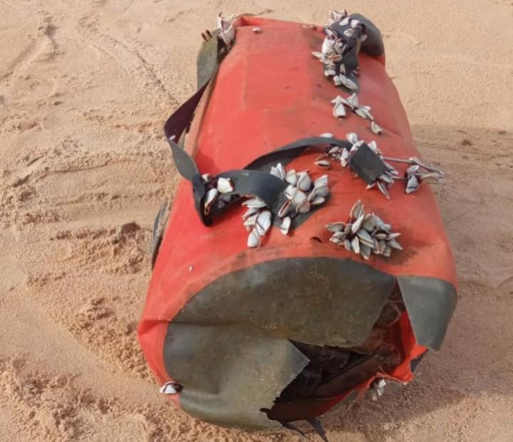 Duas mochilas com cerca de 52 kg de cocaína são encontradas em praia de Nova Viçosa, no extremo sul da Bahia