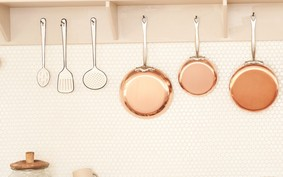 4 dicas espertas para organizar uma cozinha sem armários