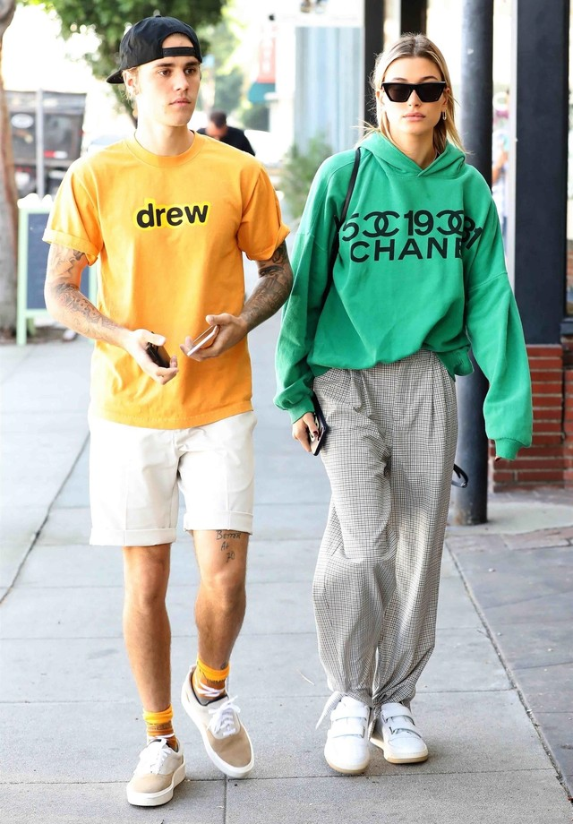 Justin e Hailey Bieber (Foto: Backgrid)