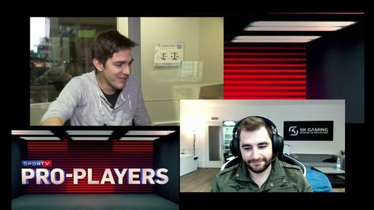 Pro-Players: Fallen analisa vitória emocionante da SK na Dinamarca