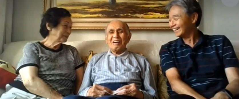 Japonês de 102 anos que mora em Curitiba sobreviveu a Covid-19 e a gripe espanhola