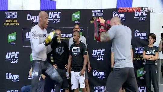 Combate.com traz os destaques do treino aberto do UFC 234