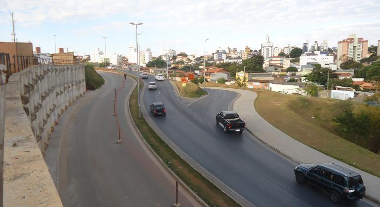 Novo trecho da Via 710, em BH, será liberada neste sábado; obras eram previstas para a Copa de 2014