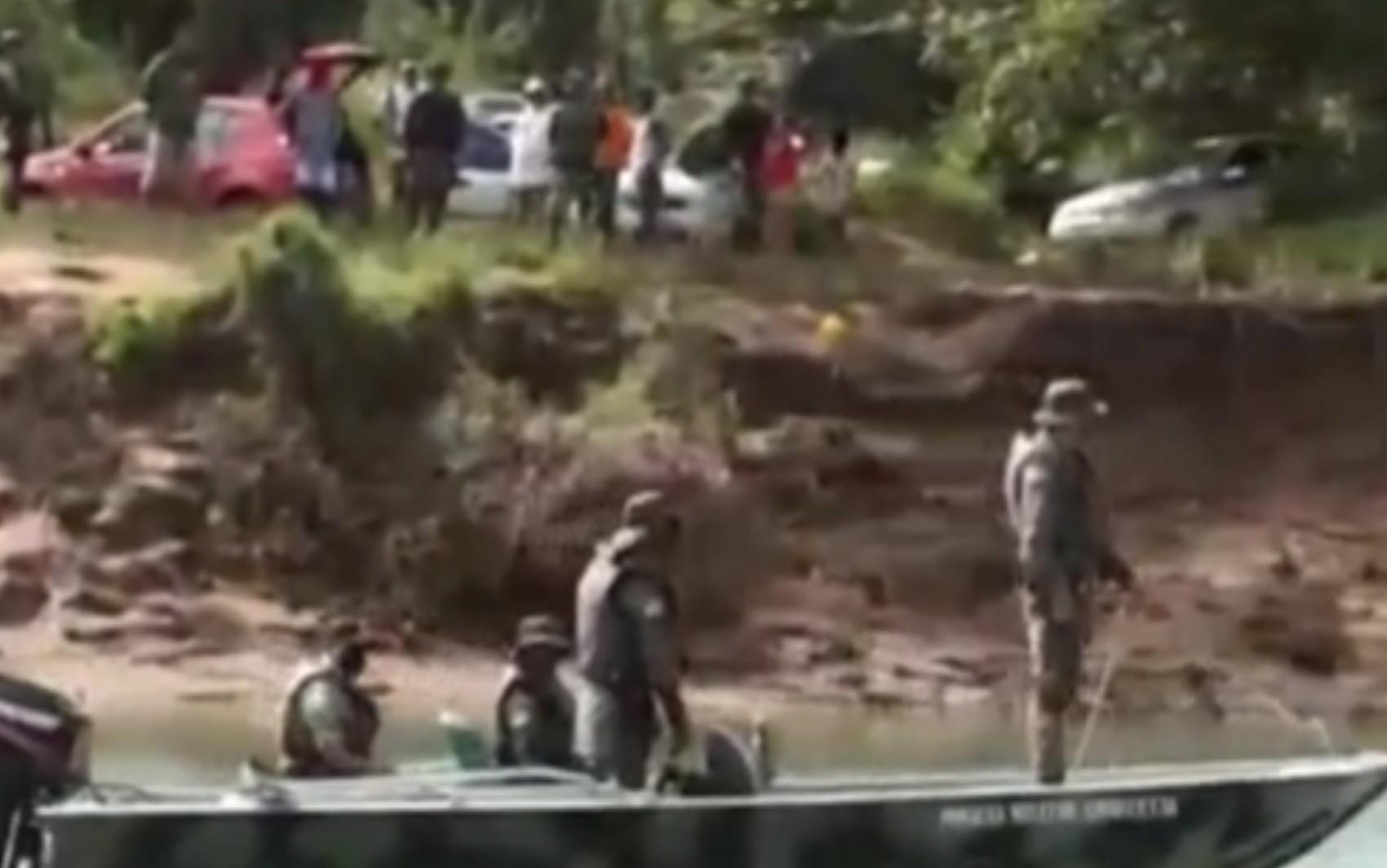 Polícia Ambiental intensifica fiscalização para evitar aglomerações no Rio Araguaia, em Goiás