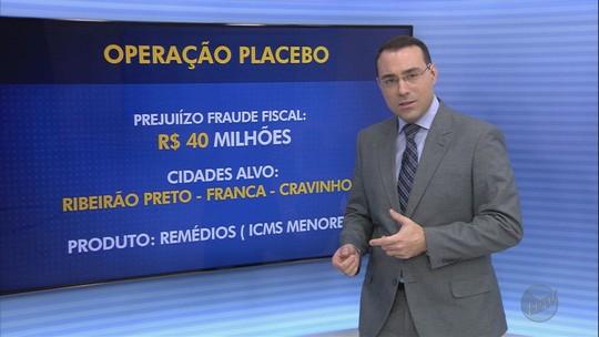 Distribuidoras de remédios nas regiões de Ribeirão Preto e São Carlos são suspeitas de fraude fiscal de R$ 40 milhões