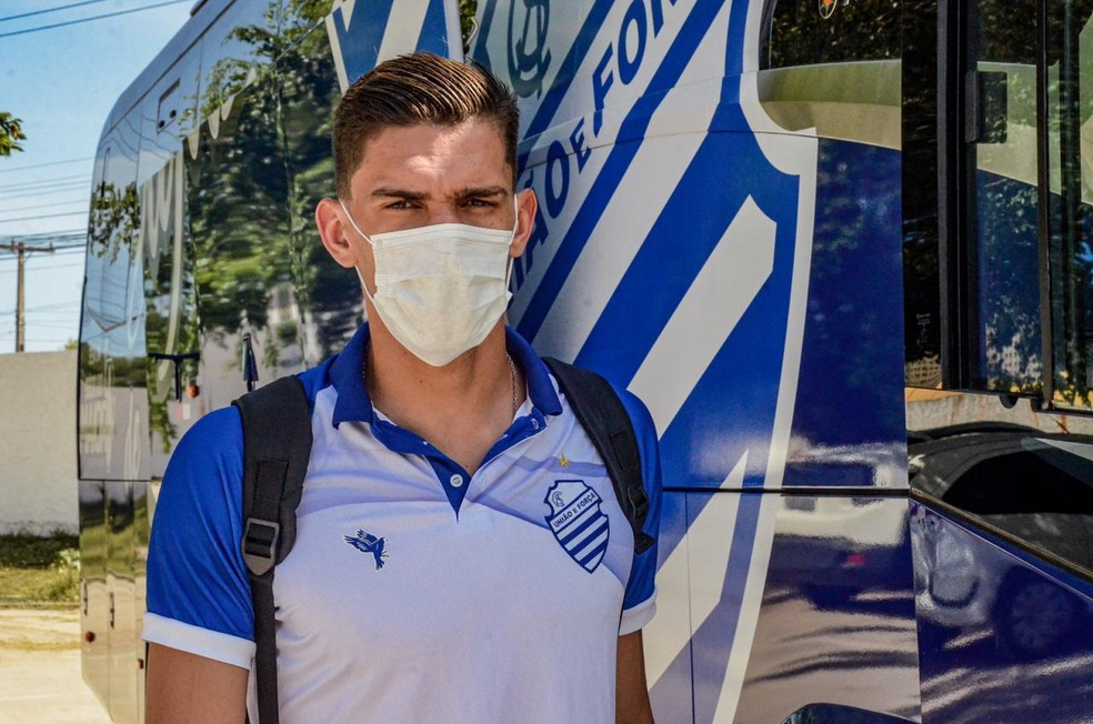 Lucas Dias vai ganhar nova chance no CSA — Foto: Augusto Oliveira/Ascom CSA