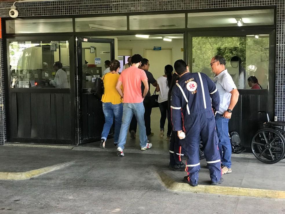 Pronto-socorro Clóvis Sarinho, no Hospital Walfredo Gurgel (Arquivo)  — Foto: Kleber Teixeira/Inter TV Cabugi