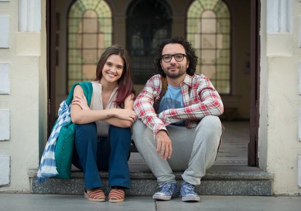 Juliana Paiva e Marco Luque em O Homem Perfeito (Foto: Divulgação)