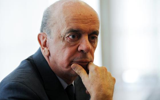 José Serra,senador (Foto:  ANDRESSA ANHOLETE/AFP)
