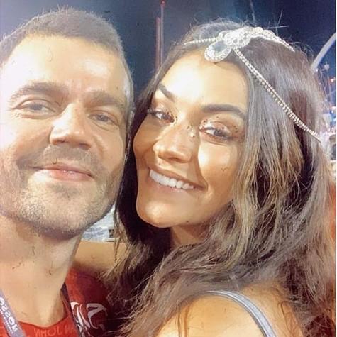 João Gomez e Talita Younan (Foto: Reprodução/Instagram)