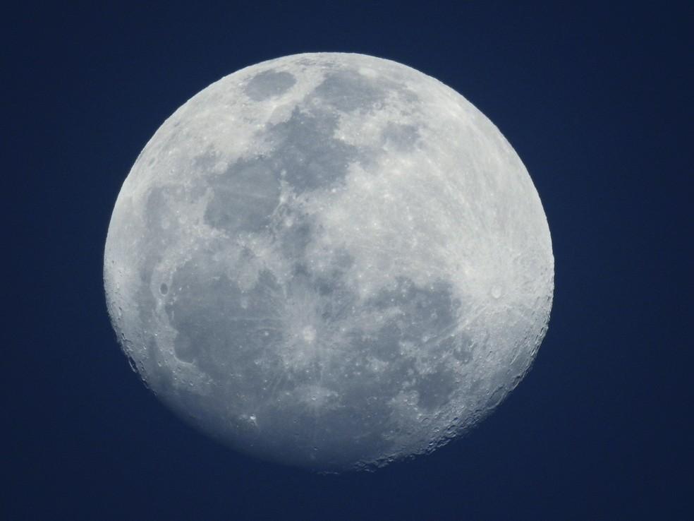 """Segunda lua cheia do mês recebe o nome de """"Lua Azul"""" (Foto: Ananda Porto/ TG)"""