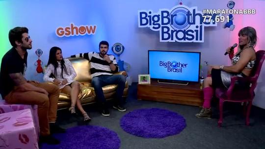 Maratona BBB: Renan diz que não foi falso com Ana Paula: 'Em momento algum eu fui amigo dela'