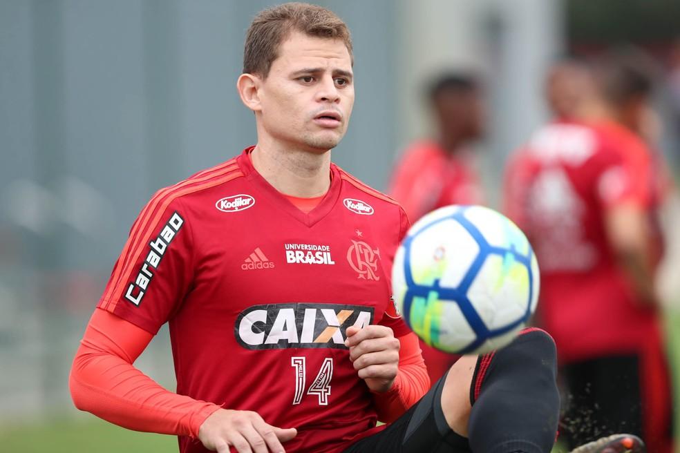 Jonas deixa o Flamengo após três anos (Foto: Gilvan de Souza / Flamengo)
