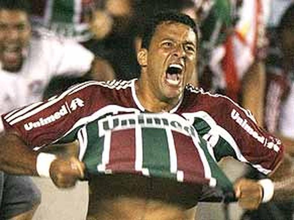Washington no Fluminense na Libertadores — Foto: Divulgação