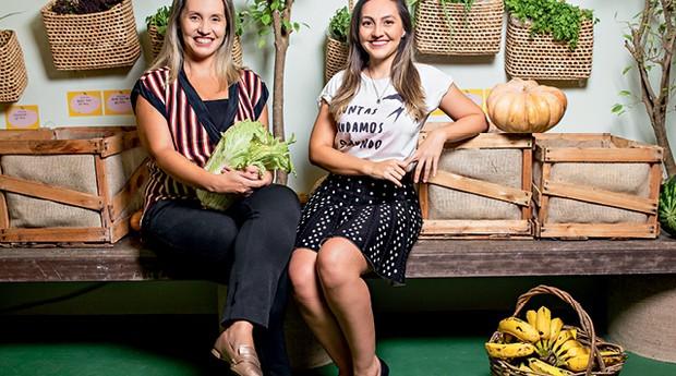 Empreendedores do MEI - Priscilla Veras, 36 anos, e Déborah Veras, 33 Empresa: Muda Meu Mundo (CE) (Foto:   Igor de Melo)