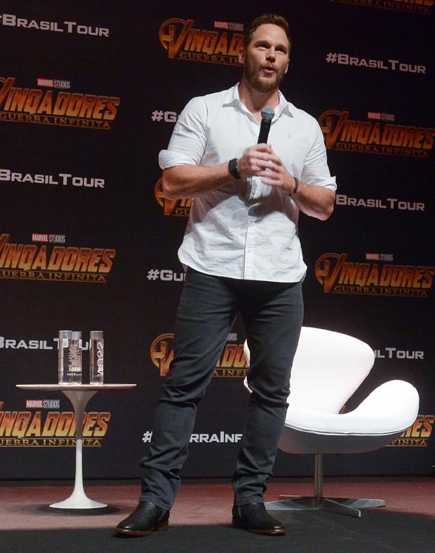 Chris Pratt (Foto: Francisco Cepeda/AgNews)