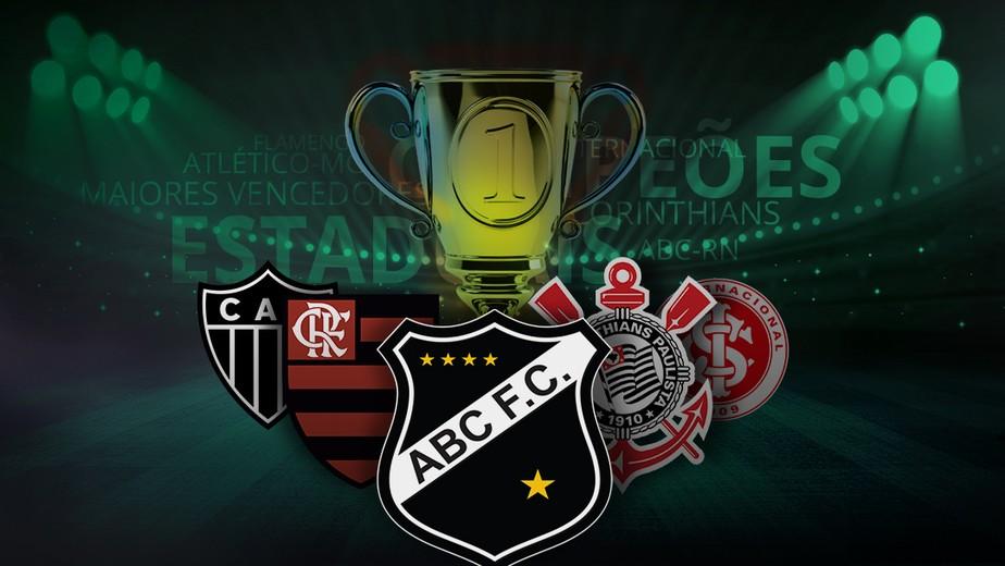 Maiores campeões estaduais: veja lista dos clubes com mais títulos