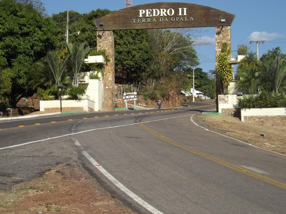 Caso aconteceu em Pedro II — Foto: Dennis Arias