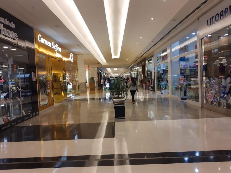 Decreto autoriza ampliação do horário de funcionamento de shoppings de Natal — Foto: Cedida
