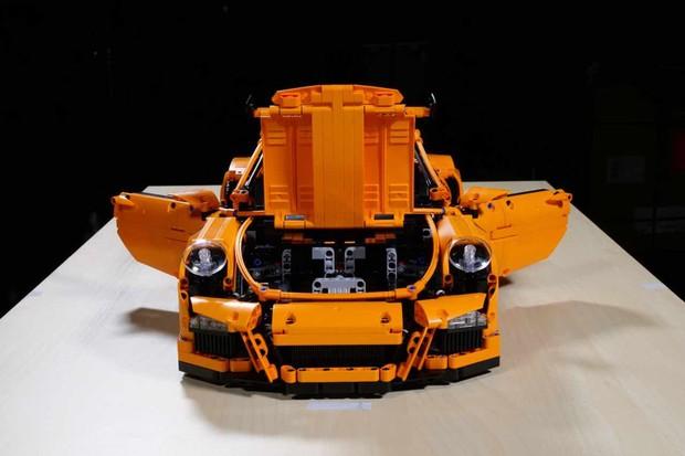 Porsche 911 GT3 RS de Lego (Foto: Divulgação)