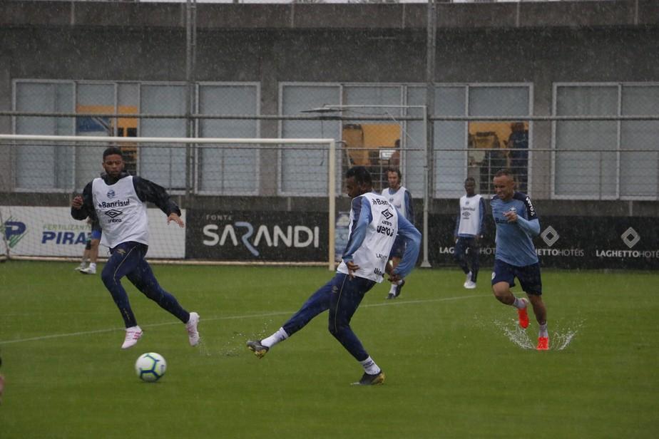 Corinthians x Grêmio: Geromel, Kannemann e Maicon são preservados, mas devem jogar