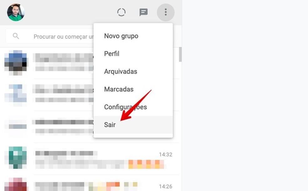 Desconecte o WhatsApp do PC de forma simples foto: Reprodução/Helito Bijora