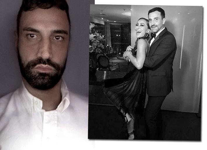 Riccardo Tisci em retrato oficial para o anúncio desta quinta-feira (01.03) e com Sabrina Sato, em passagem por SP (Foto: Divulgação e Reprodução)