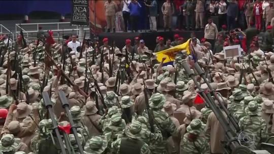 Levantamento mostra avanço das guerrilhas colombianas pelo território venezuelano