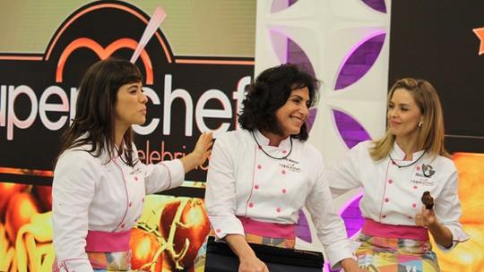 Totia Meireles é a terceira pessoa a deixar o 'Super Chef'