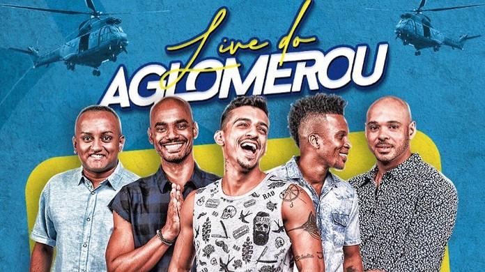 Grupo Aglomerou anuncia data de nova live após tiroteio   Música   G1