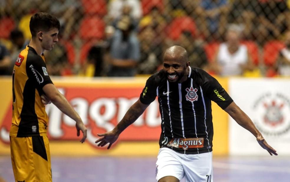 Corinthians abriu grande vantagem sobre o Sorocaba — Foto: Rodrigo Coca/Agência Corinthians