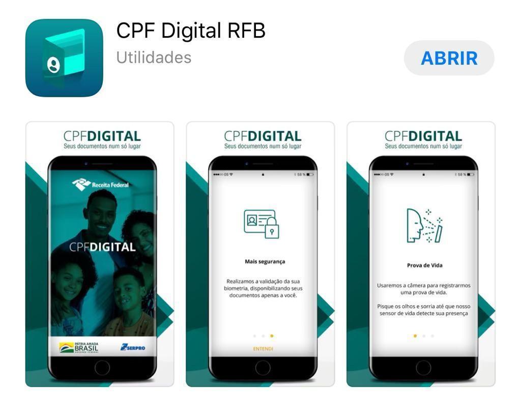 Receita Federal lança 'CPF Digital', aplicativo que permite ter o documento no celular