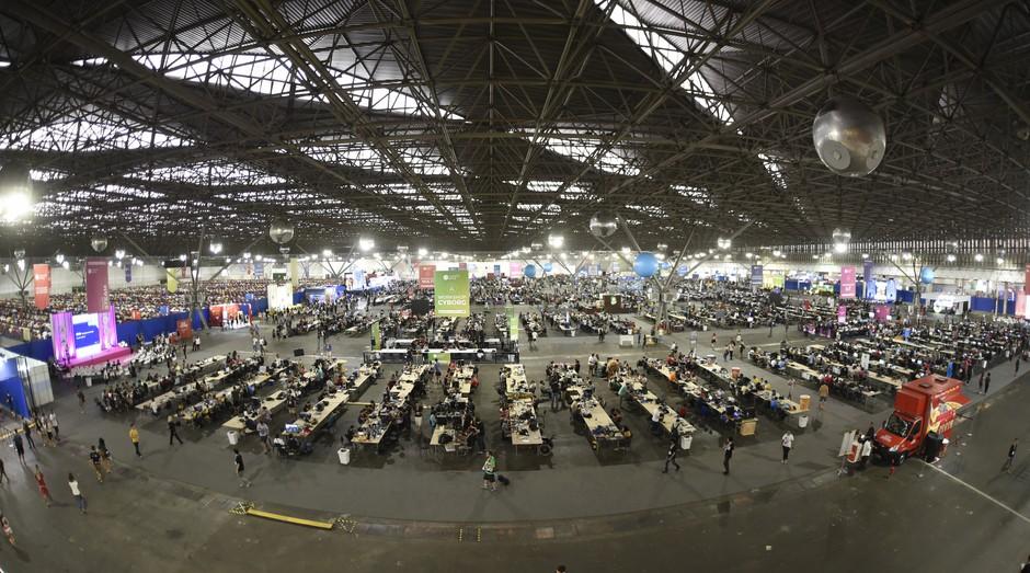 Campus Party Brasil, evento aconteceu no Pavilhão do Anhembi, em São Paulo (Foto: Divulgação)